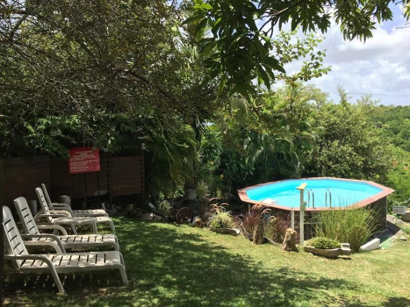 Swimming pool Location Bungalow 8003 Gosier (Guadeloupe)