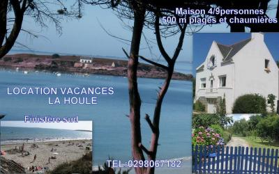 View of the property from outside Location House 8828 Concarneau