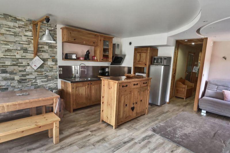 Open-plan kitchen Location Apartment 103673 Risoul 1850