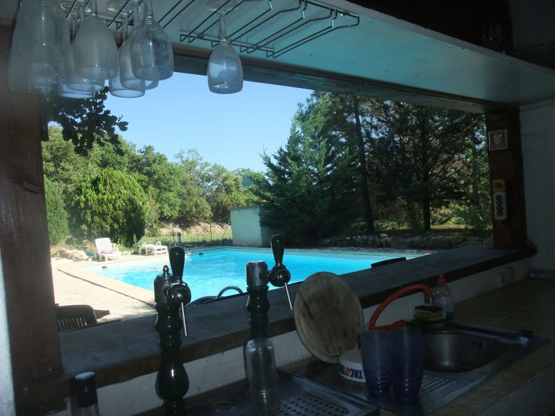 Summer kitchen Location Villa 103766 Anduze