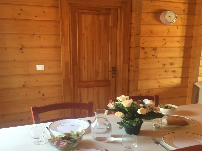 Dining room Location Chalet 113003 Mimizan