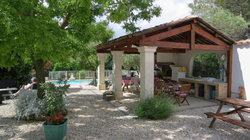 Summer kitchen Location Vacation rental 68431 Alès