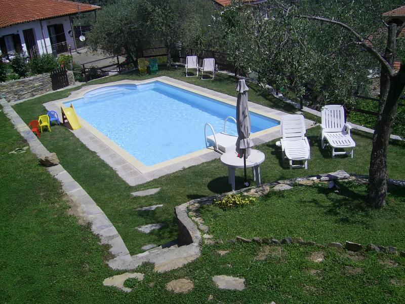 Swimming pool Location Vacation rental 78649 Dolcedo