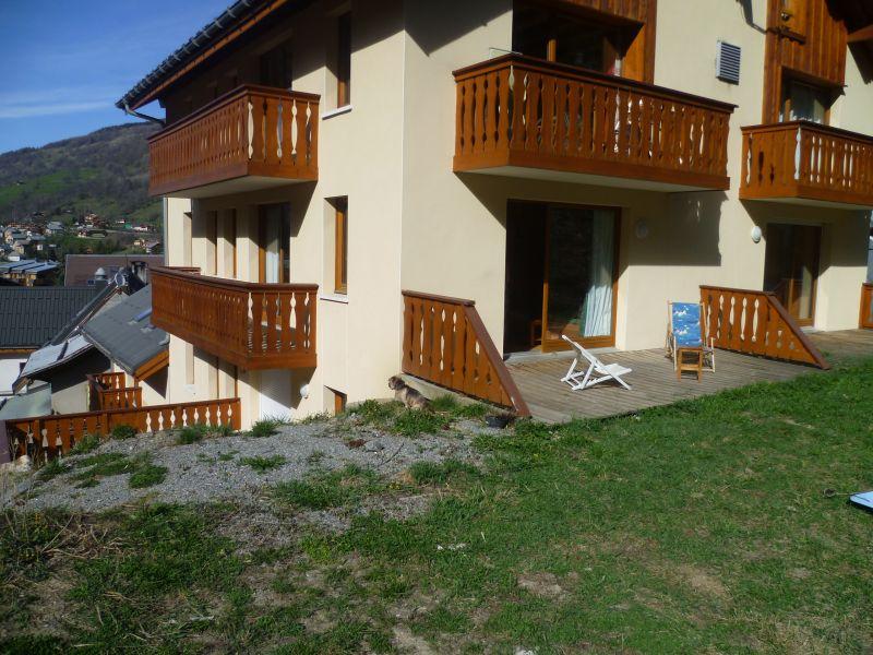 Terrace Location Apartment 97230 Valloire