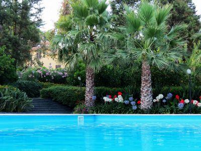 Swimming pool Location Villa 100095 Taormina