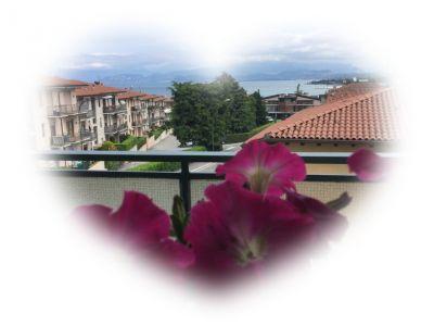 View from the balcony Location Apartment 110006 Peschiera del Garda