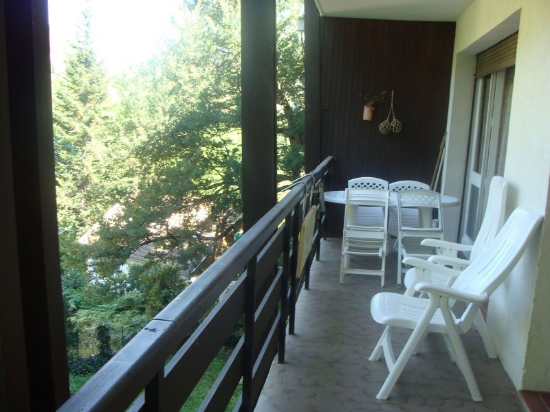 View from the balcony Location Apartment 72066 Ax Les Thermes