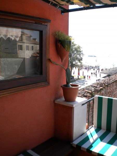 View from the terrace Location Apartment 86011 Venice