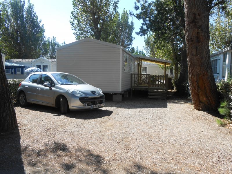 View of the property from outside Location Mobile home 90517 Vias Plage