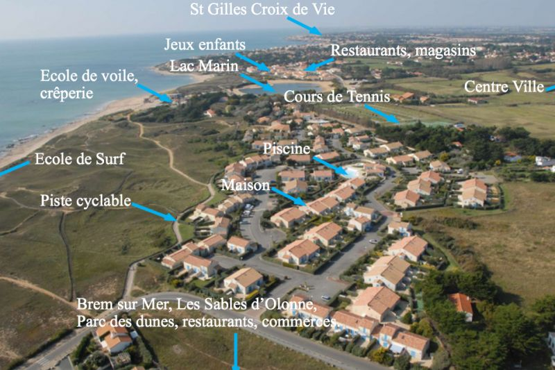 Surroundings Location House 94166 Bretignolles sur mer