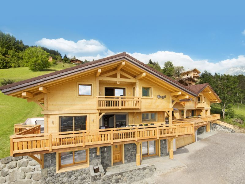 View of the property from outside Location Chalet 101553 Manigod-Croix Fry/L'étale-Merdassier