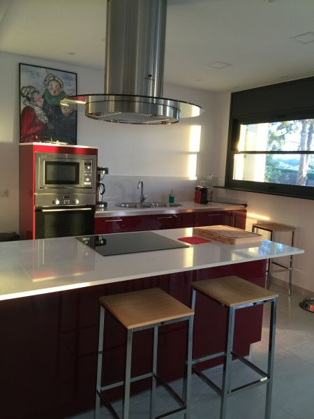 Open-plan kitchen Location Villa 102783 Rosas