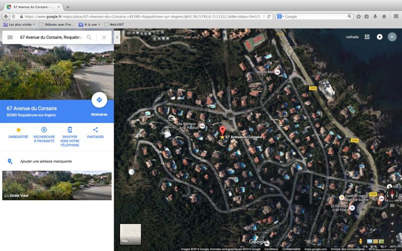 Surroundings Location Villa 103815 Les Issambres