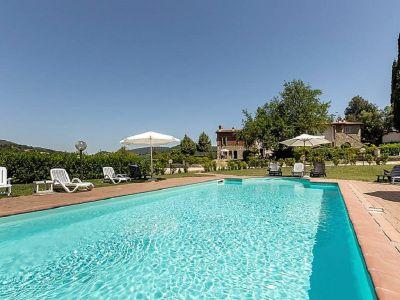 Swimming pool Location Apartment 104392 Greve in Chianti
