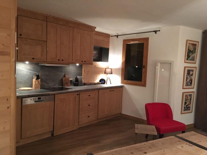 Open-plan kitchen Location Apartment 112657 Méribel