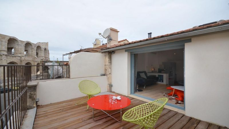 View from the terrace Location House 116355 Arles