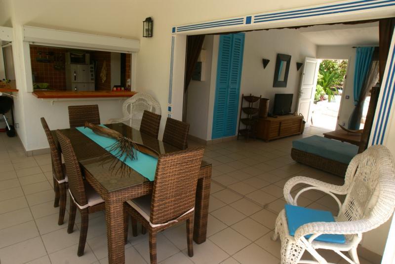 View from the terrace Location Villa 65357 Saint Francois