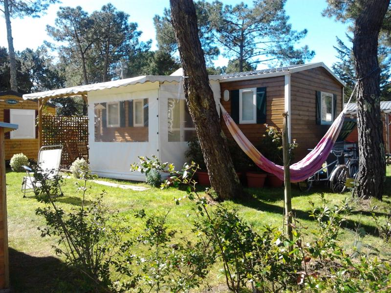 View of the property from outside Location Mobile home 72176 Labenne Océan