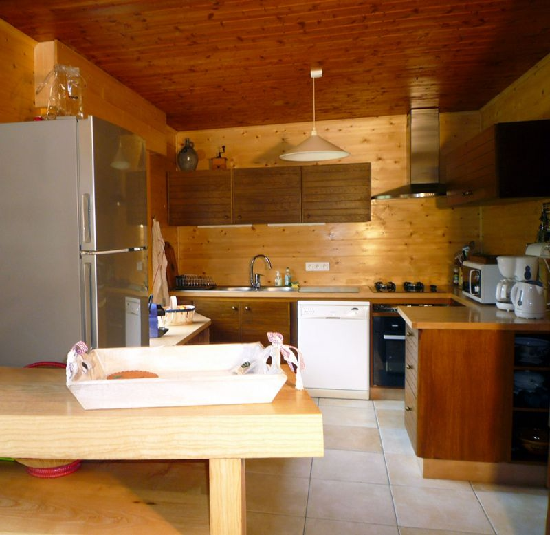 Open-plan kitchen Location Chalet 88059 Chamonix Mont-Blanc