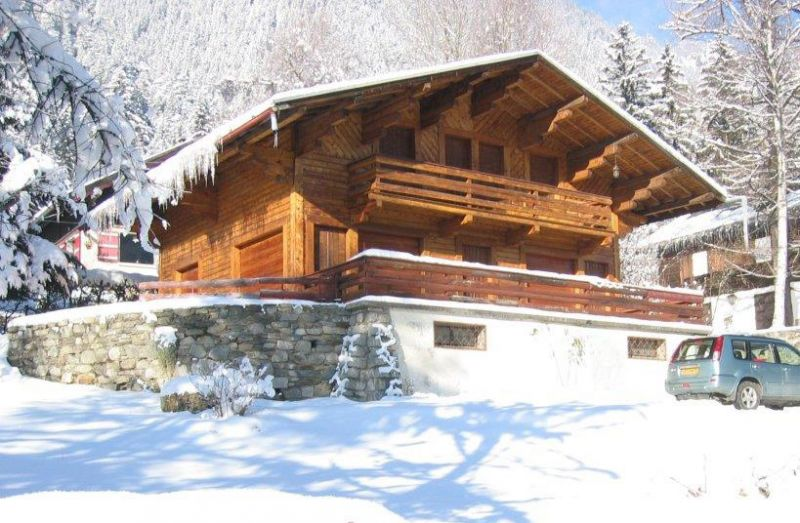 View of the property from outside Location Chalet 88059 Chamonix Mont-Blanc