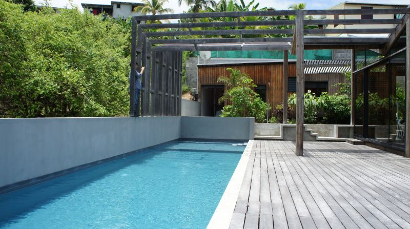 Swimming pool Location Offbeat B&B 93210 Gosier (Guadeloupe)