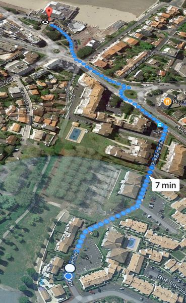 Area map Location House 93952 Royan