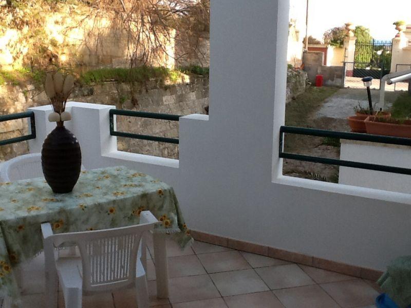 View from the terrace Location Apartment 98862 Santa Maria di Leuca