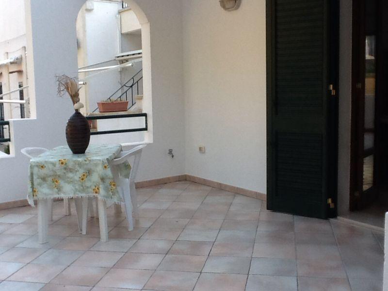 View from the balcony Location Apartment 98862 Santa Maria di Leuca