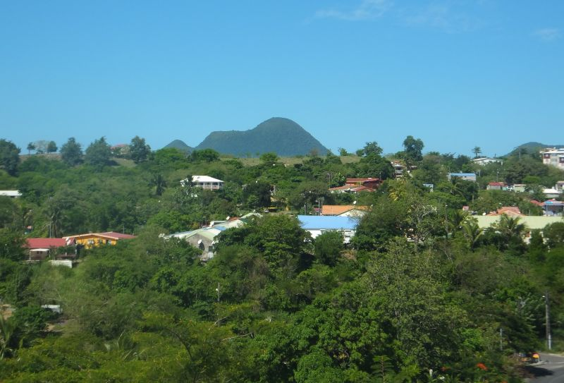 View from the property Location House 106448 Le Diamant