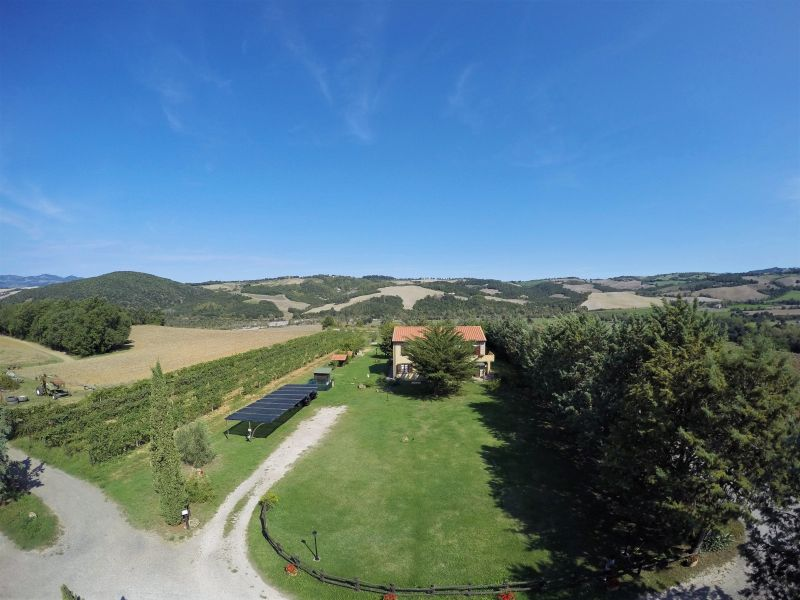View of the property from outside Location Vacation rental 106681 Volterra
