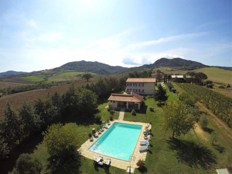 View from the property Location Vacation rental 106681 Volterra
