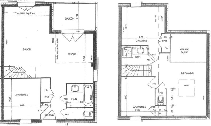 Map of property Location Apartment 111117 Les Saisies