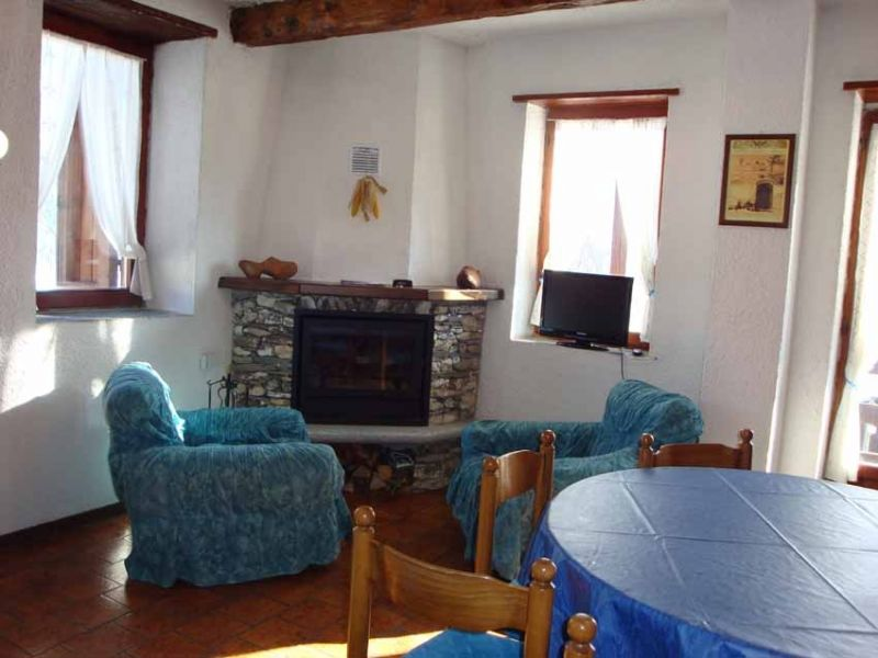 Living room Location Apartment 112606 Sestriere