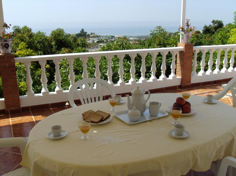 View from the property Location Vacation rental 65400 Nerja