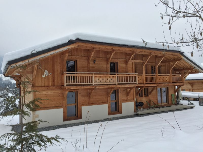 View of the property from outside Location Chalet 66506 Morillon Grand Massif