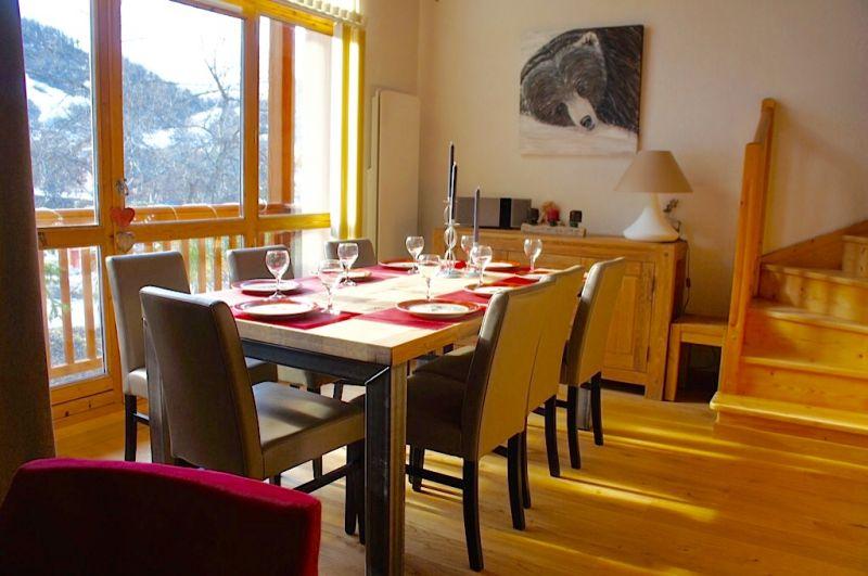 Dining room Location Apartment 74411 Valloire