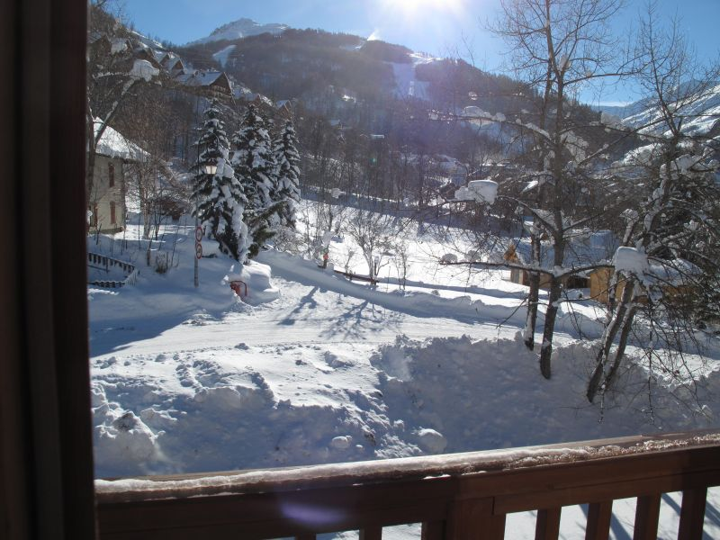 View from the balcony Location Apartment 74411 Valloire