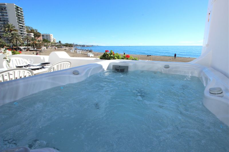 View from the terrace Location Apartment 84366 Marbella