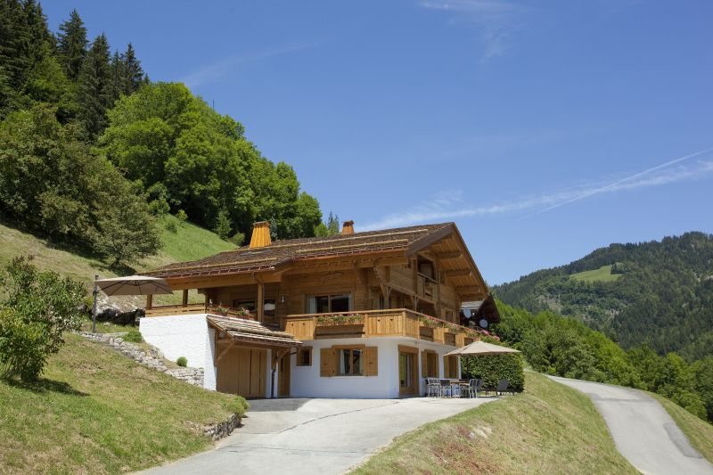 View of the property from outside Location Chalet 86535 Le Grand Bornand