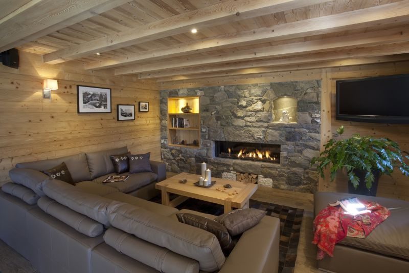 Living room 1 Location Chalet 86535 Le Grand Bornand
