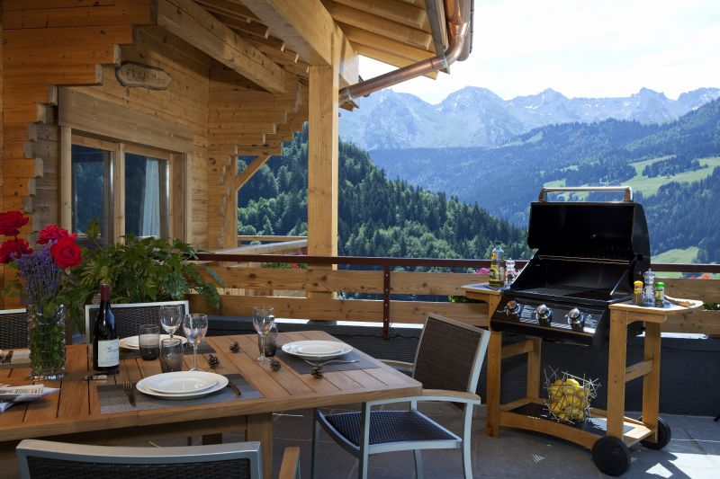 Terrace Location Chalet 86535 Le Grand Bornand