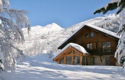 View of the property from outside Location Chalet 96859 Serre Chevalier