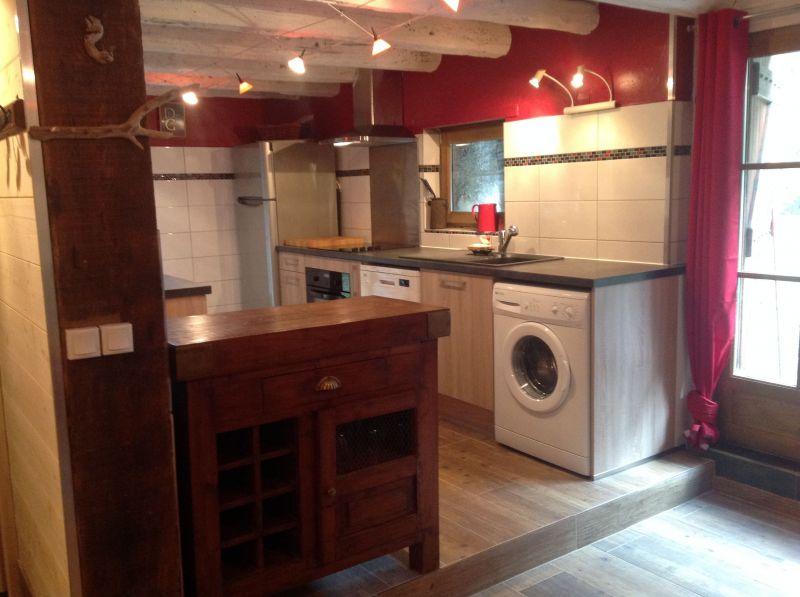 Open-plan kitchen Location Vacation rental 102098 Saint Lary Soulan