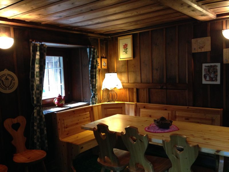Dining room Location Chalet 111344 Gressoney Saint Jean