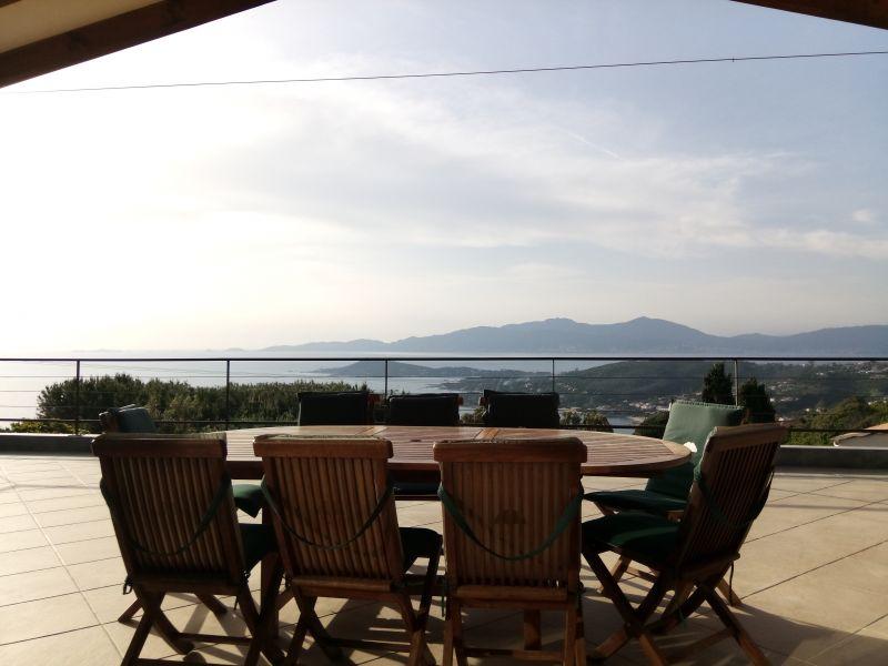 View from the terrace Location Villa 114573 Porticcio