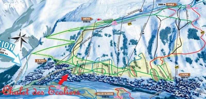 Location Chalet 117369 Les 2 Alpes