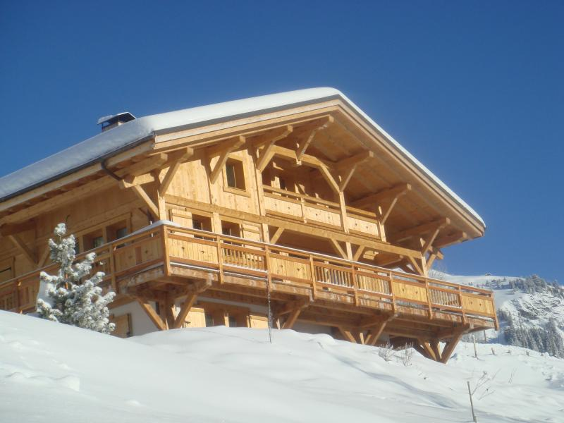 View of the property from outside Location Chalet 68480 Hauteluce