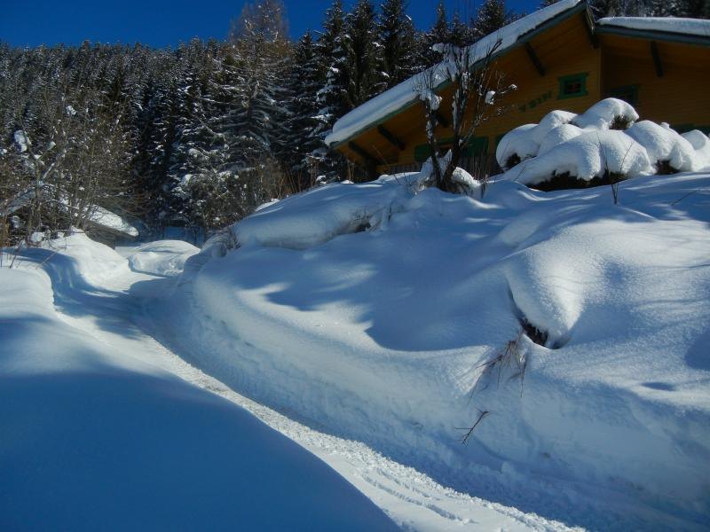 View of the property from outside Location Chalet 73726 Châtel