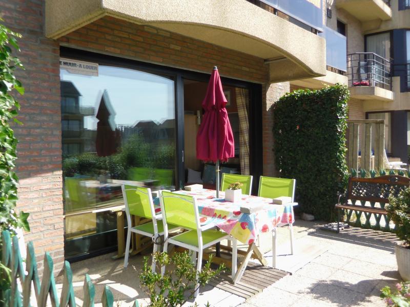 Terrace Location Apartment 78706 De Panne