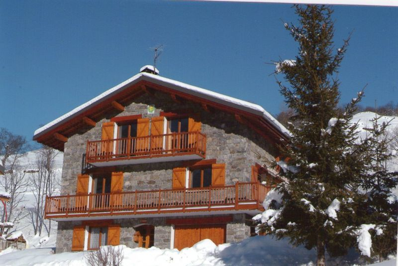 View of the property from outside Location Chalet 91424 Les Menuires